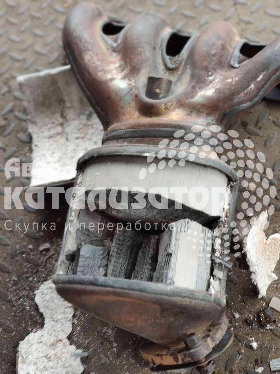 Керамический катализатор в железном корпусе
